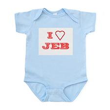 I LOVE JEB BUSH Infant Creeper