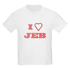 I LOVE JEB BUSH Kids T-Shirt