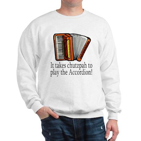 Accordion Player Sweatshirt