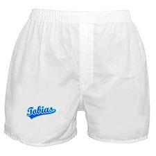 Retro Tobias (Blue) Boxer Shorts