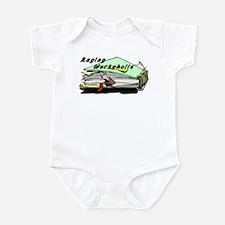 Raging Workaholic Infant Bodysuit