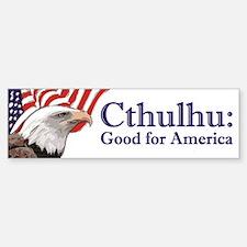 Cthulhu: Good for America Bumper Bumper Bumper Sticker