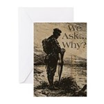 The Ultimate Sacrifice Greeting Cards (Pk of 10)