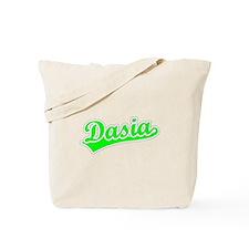 Retro Dasia (Green) Tote Bag