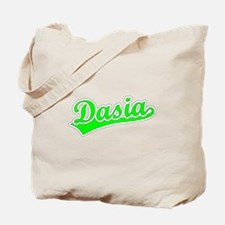 Retro Dasia (Green) Tote Bag