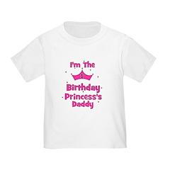 1st Birthday Princess's Daddy T