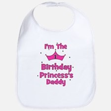 1st Birthday Princess's Daddy Bib