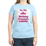 1st Birthday Princess's Godfa Women's Light T-Shir