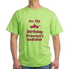 1st Birthday Princess's Godfa T-Shirt