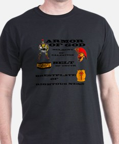 armor of God front T-Shirt