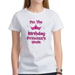 1st Birthday Princess's Uncle Women's T-Shirt