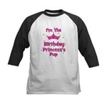 1st Birthday Princess's Pup! Kids Baseball Jersey
