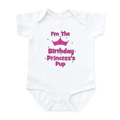 1st Birthday Princess's Pup! Infant Bodysuit