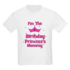 1st Birthday Princess's Mommy T-Shirt