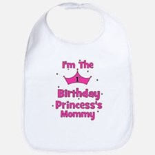 1st Birthday Princess's Mommy Bib