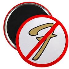 No Fender Magnet