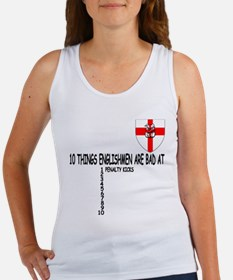England football theme Women's Tank Top