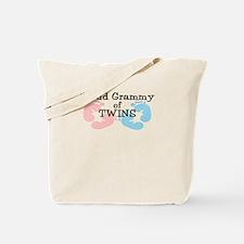 New Grammy Twins Girl Boy Tote Bag