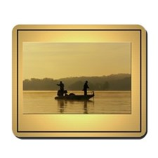 Early Morning Fishing 3 Photo Mouse Pad