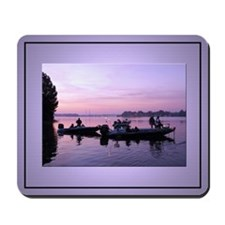 Early Morning Fishing 2 Photo Mouse Pad