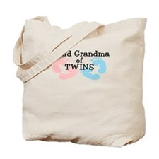 New Grandma Twins Girl Boy Tote Bag