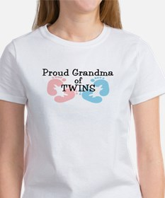 New Grandma Twins Girl Boy Women's T-Shirt