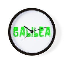 Galilea Faded (Green) Wall Clock