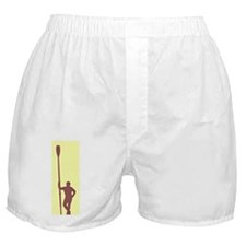 READY TO ROW YELLOW RED CHALK Boxer Shorts