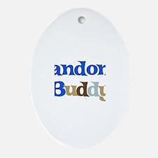 Landon's Buddy Oval Ornament