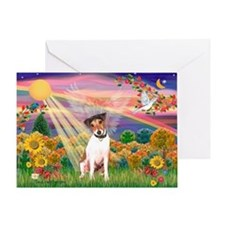 Autumn Angel / JRT Greeting Card