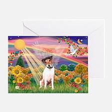 Autumn Angel / JRT Greeting Card