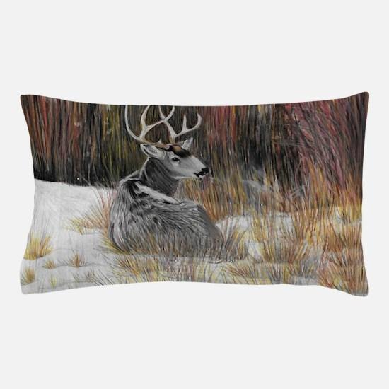 Winter Buck Pillow Case