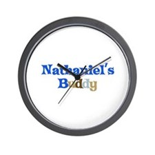 Nathaniel's Buddy Wall Clock