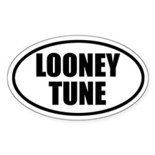 Looney Tune Bumper Oval Decal