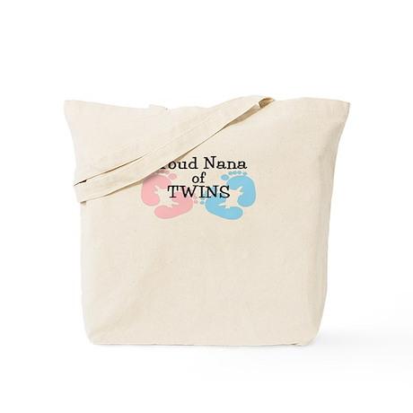 New Nana Twins Girl Boy Tote Bag