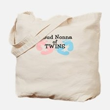 New Nonna Twins Girl Boy Tote Bag