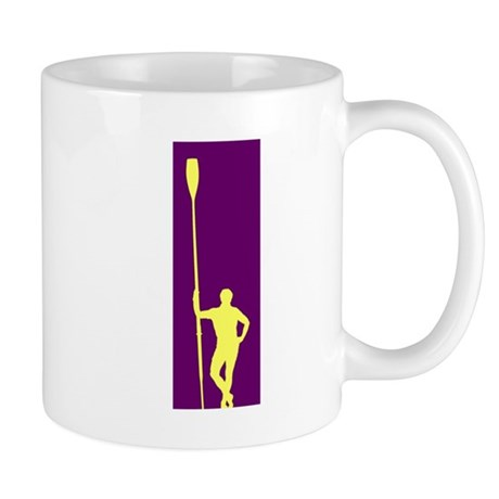 READY TO ROW PURPLE YELLOW Mug