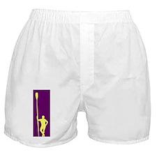 READY TO ROW PURPLE YELLOW Boxer Shorts