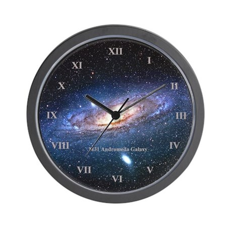 Andromeda Galaxy Wall Clock