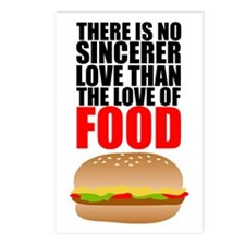 The Love of Food Postcards (Package of 8)