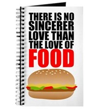 The Love of Food Journal