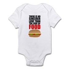 The Love of Food Infant Bodysuit