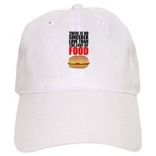 The Love of Food Baseball Cap