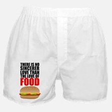 The Love of Food Boxer Shorts