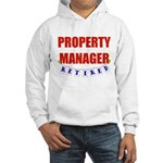Retired Property Manager Hooded Sweatshirt