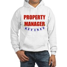 Retired Property Manager Jumper Hoody