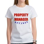 Retired Property Manager Women's T-Shirt