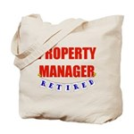 Retired Property Manager Tote Bag
