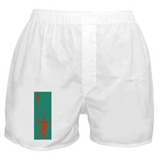 READY TO ROW RED GREEN Boxer Shorts