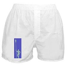READY TO ROW VIOLET GRAY Boxer Shorts